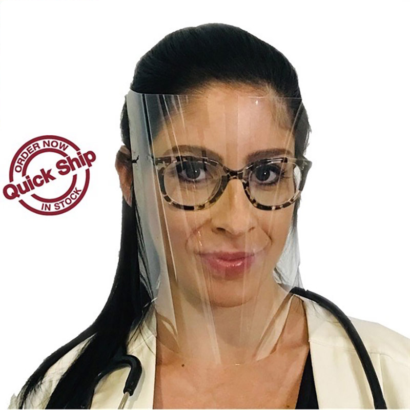 Reusable Face Shields With Adjustable Headband