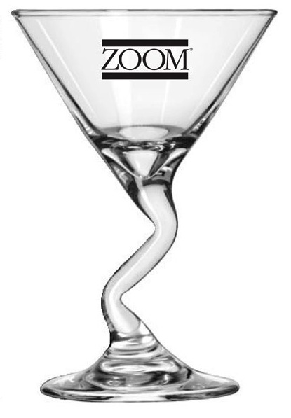 Z-Stem Martini Glass- 7.5 Oz.