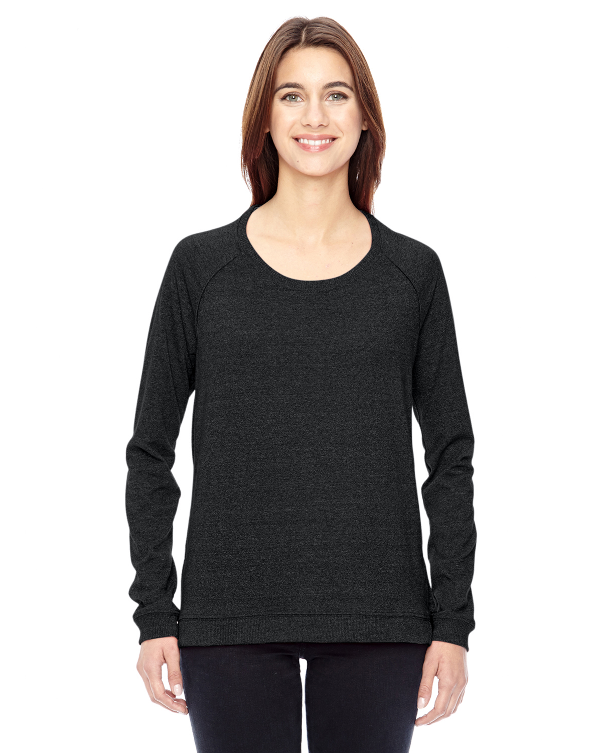 Alternative Ladies Eco-Mock Twist Locker Room Pullover