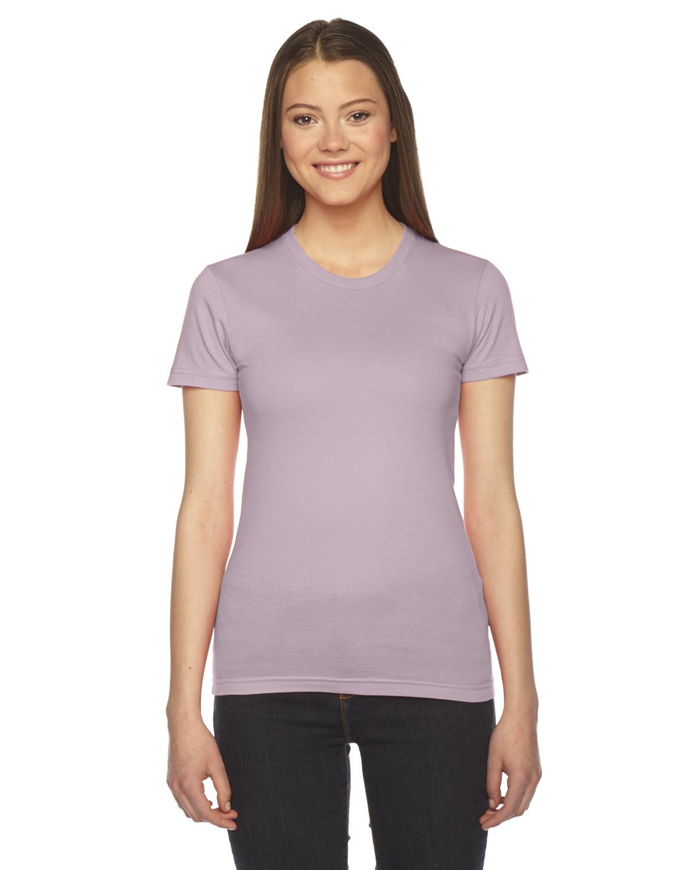 American Apparel Ladies Fine Jersey Short-Sleeve T-Shirt