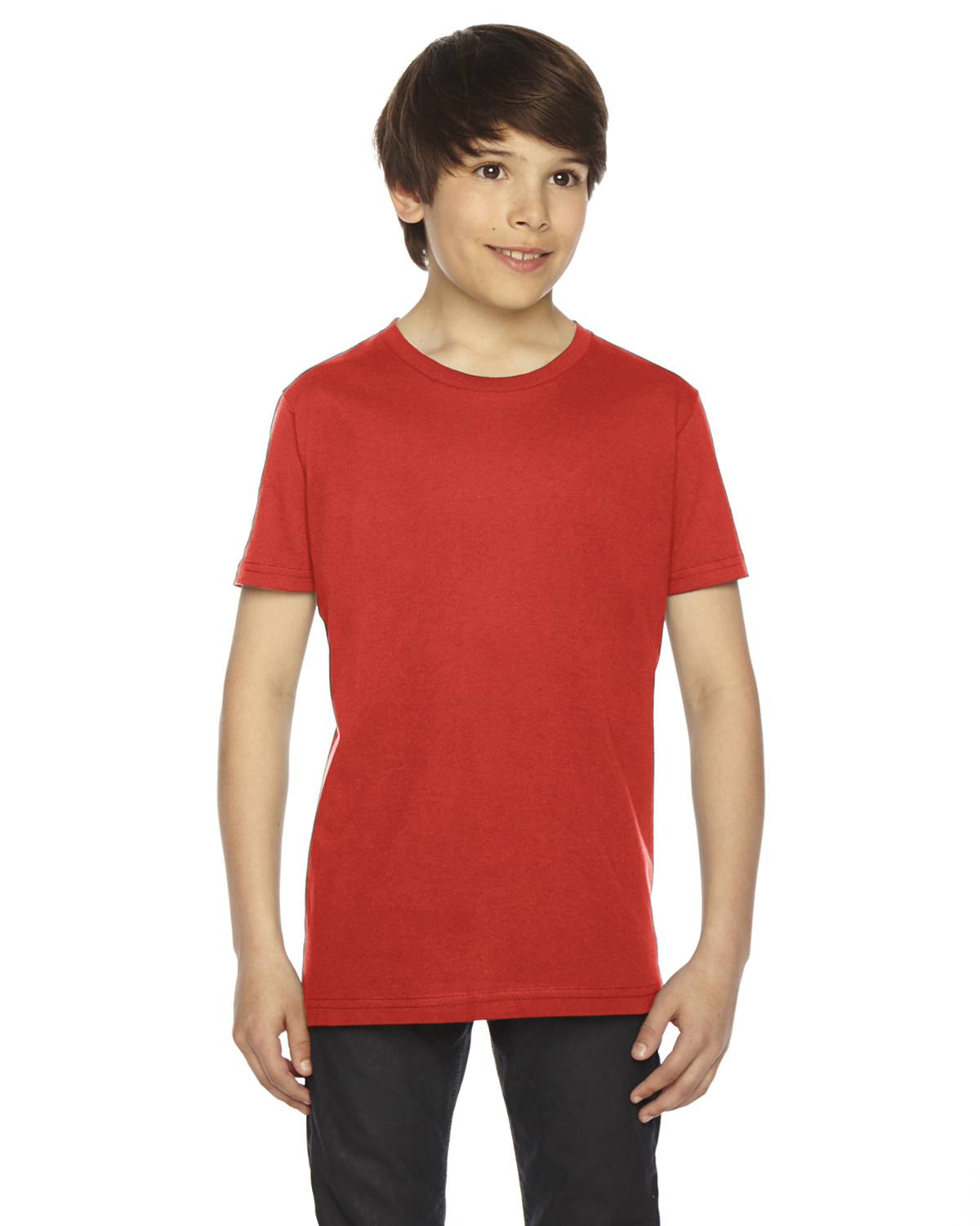 American Apparel Youth Fine Jersey Short-Sleeve T-Shirt