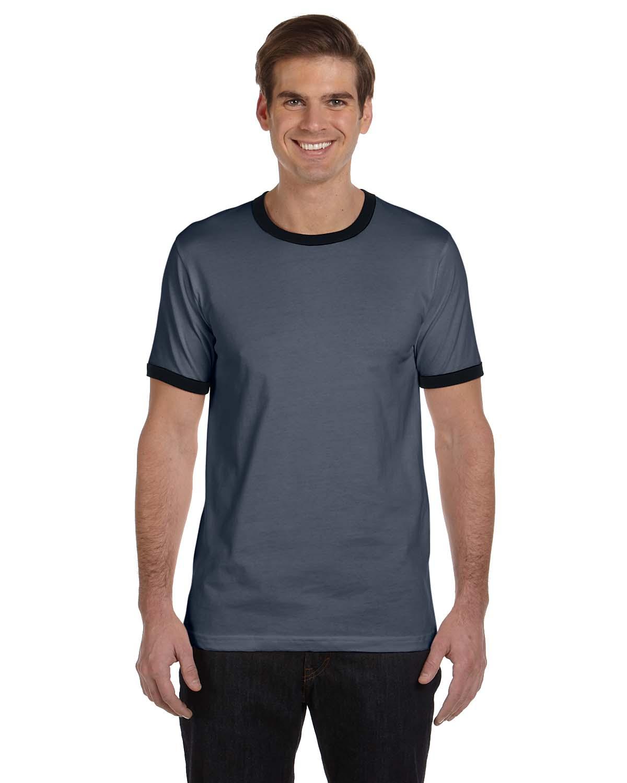 Bella Mens Jersey Short-Sleeve Ringer T-Shirt
