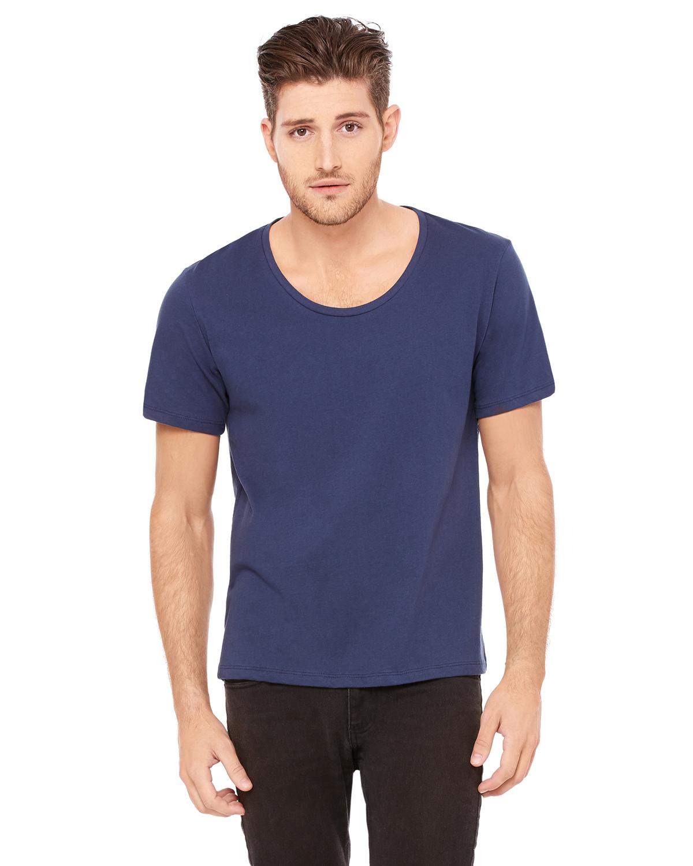Bella Mens Jersey Wide Neck T-Shirt