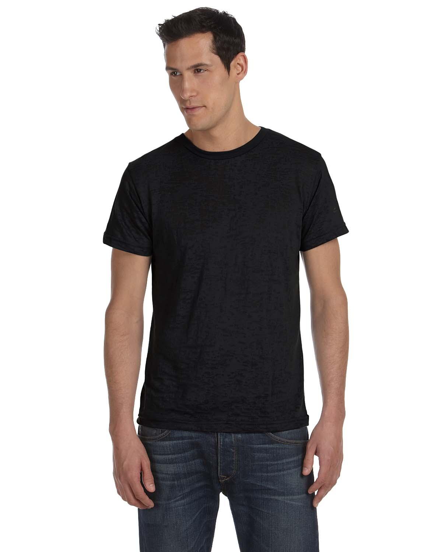 Bella Mens Burnout Short-Sleeve T-Shirt