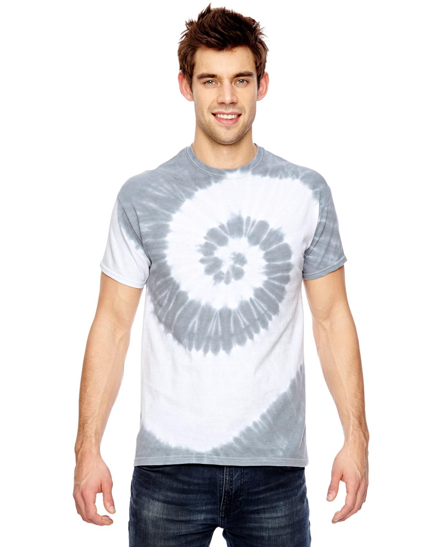Dyenomite Team Tonal Spiral Tie-Dyed T-Shirt