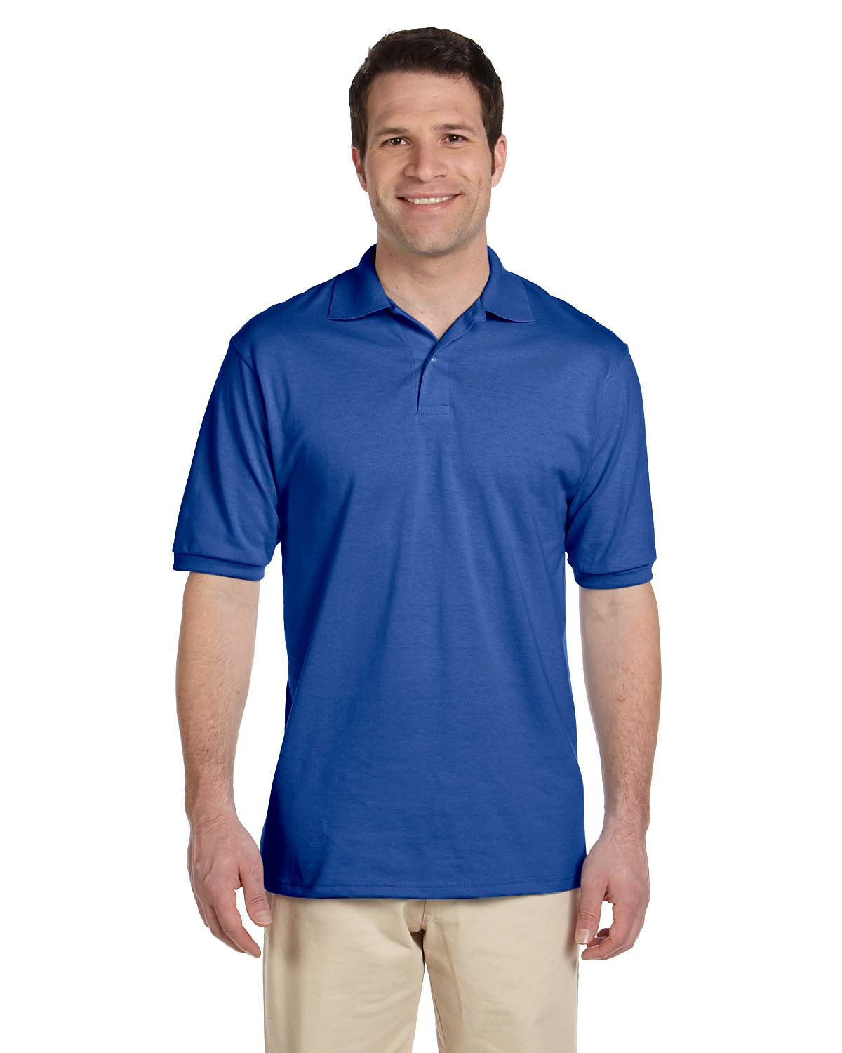 Jerzees Mens 5.6 Oz., 50/50 Jersey Polo With SpotShield™