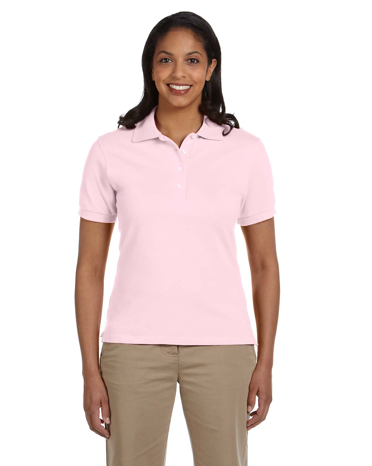 Jerzees Ladies 6.5 Oz. Ringspun Cotton Pique Polo