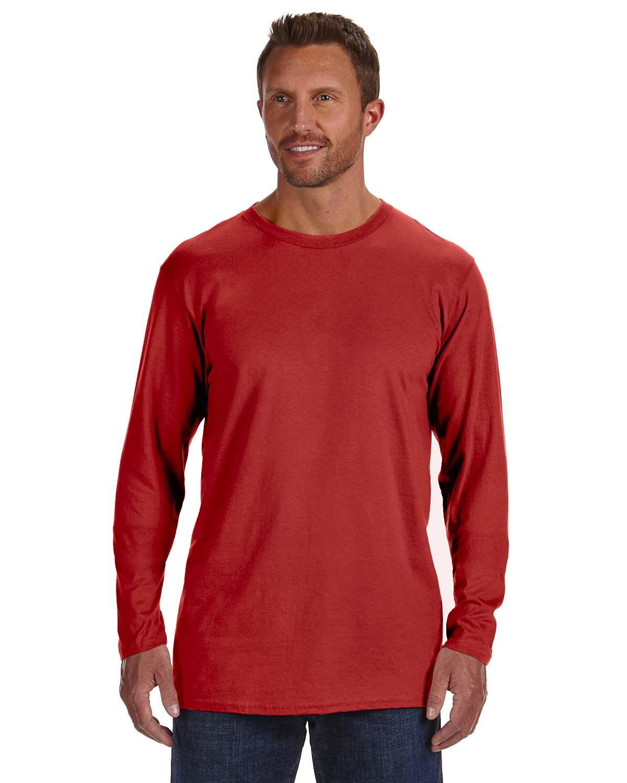 Hanes 4.5 Oz., 100% Ringspun Cotton Nano-T® Long-Sleeve T-Sh