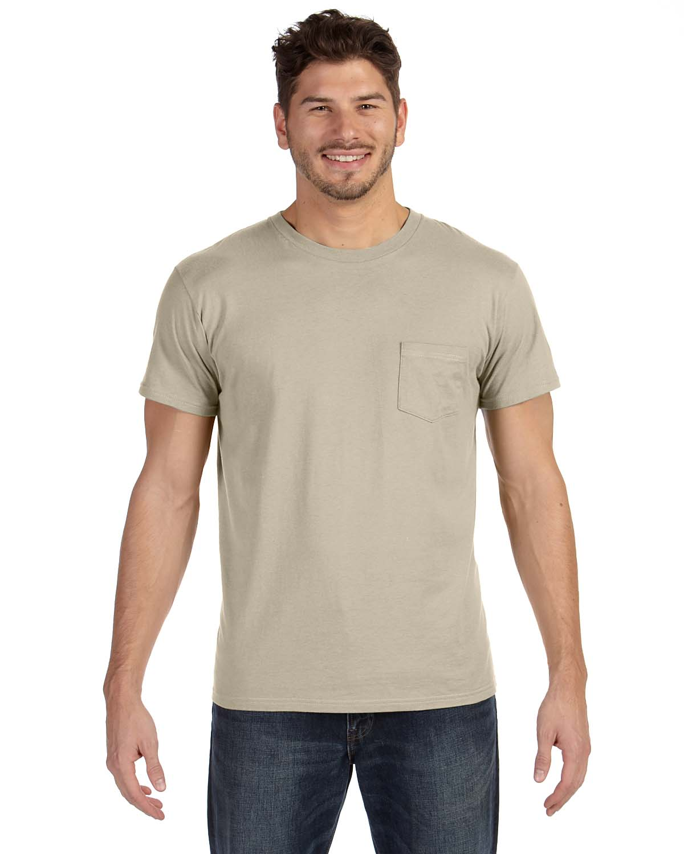 Hanes 4.5 Oz., 100% Ringspun Cotton Nano-T® T-Shirt With Poc