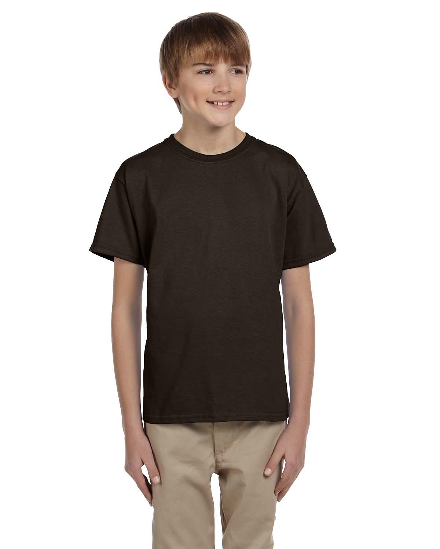 Hanes Youth 5.2 Oz., 50/50 ComfortBlend® EcoSmart® T-Shi