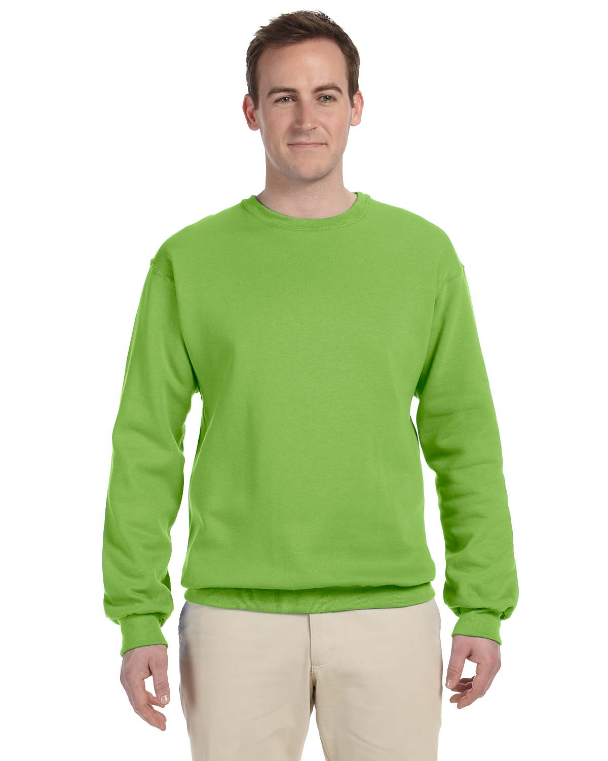 Jerzees 8 Oz., 50/50 NuBlend® Fleece Crew