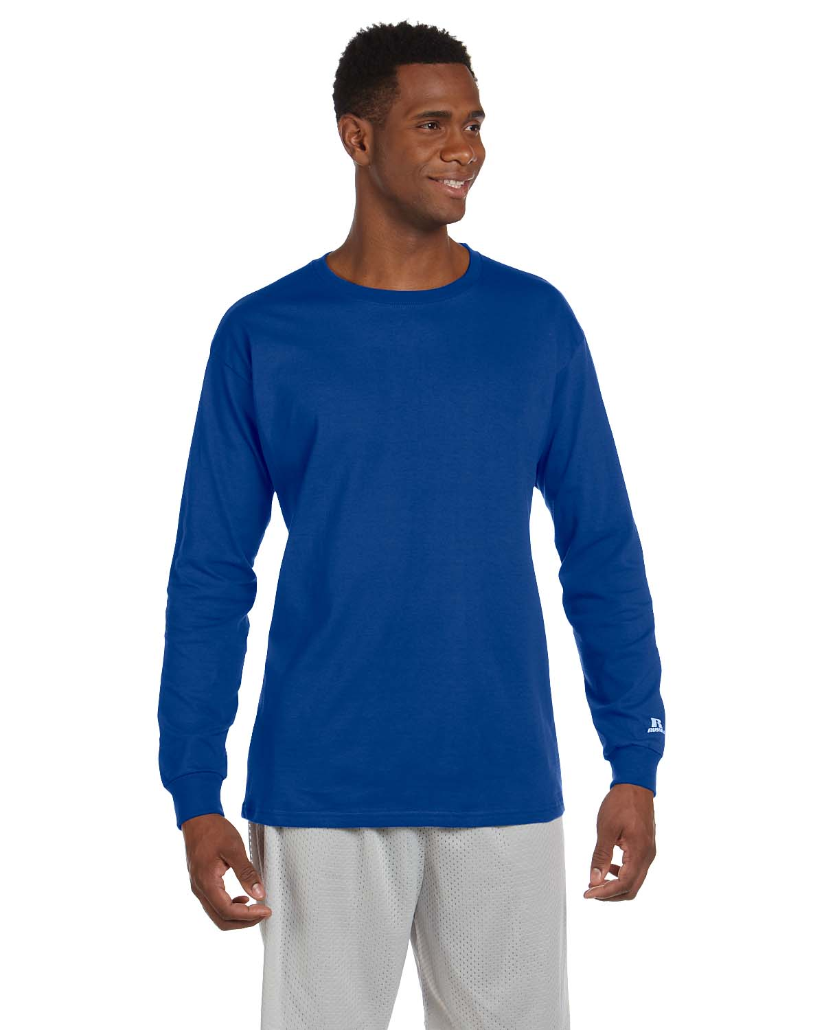 Russell Athletic Cotton Long-Sleeve T-Shirt