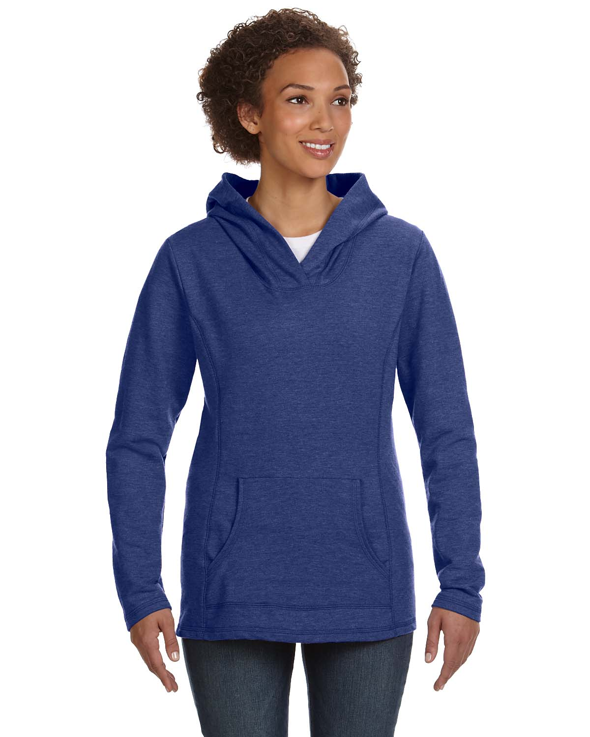 Anvil Ladies Hooded French Terry