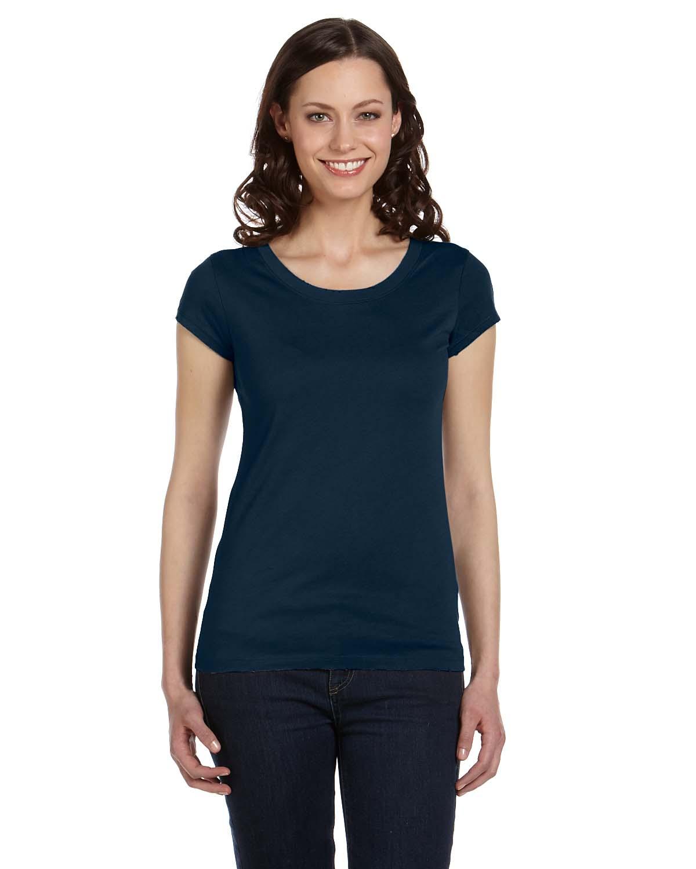 Bella Ladies Vintage Jersey Short-Sleeve T-Shirt