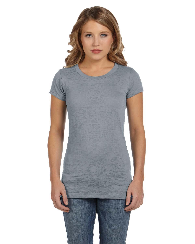Bella Ladies Burnout Short-Sleeve T-Shirt