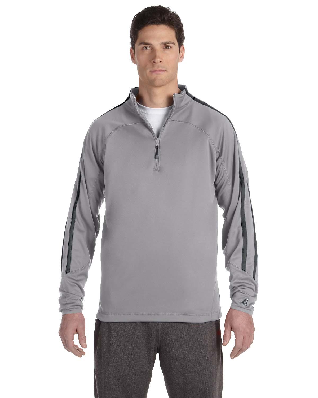 Russell Athletic Tech Fleece Quarter-Zip Cadet
