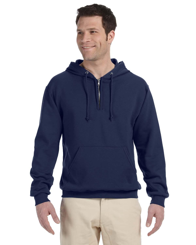 Jerzees 8 Oz., 50/50 NuBlend® Fleece Quarter-Zip Pullover Ho