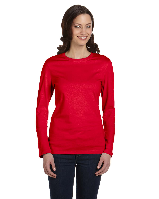 Bella Ladies Jersey Long-Sleeve T-Shirt