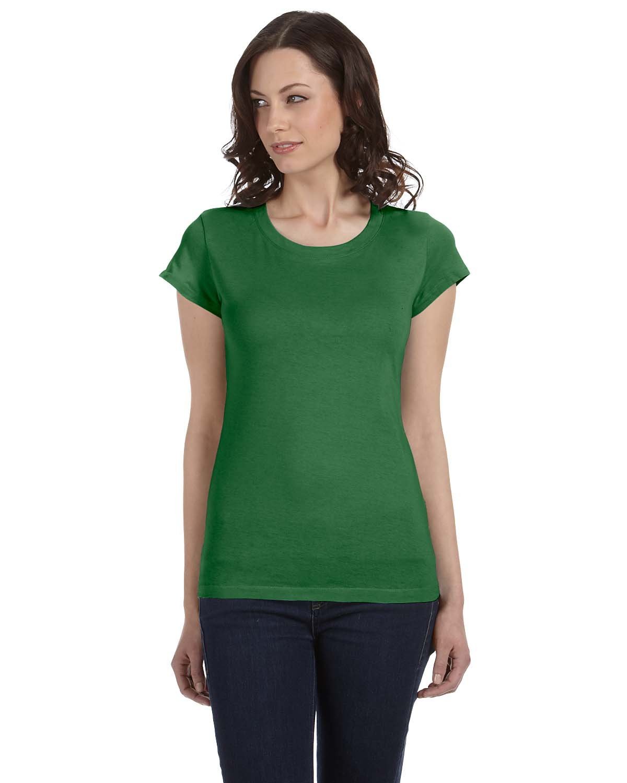 Bella Ladies Sheer Jersey Short-Sleeve T-Shirt