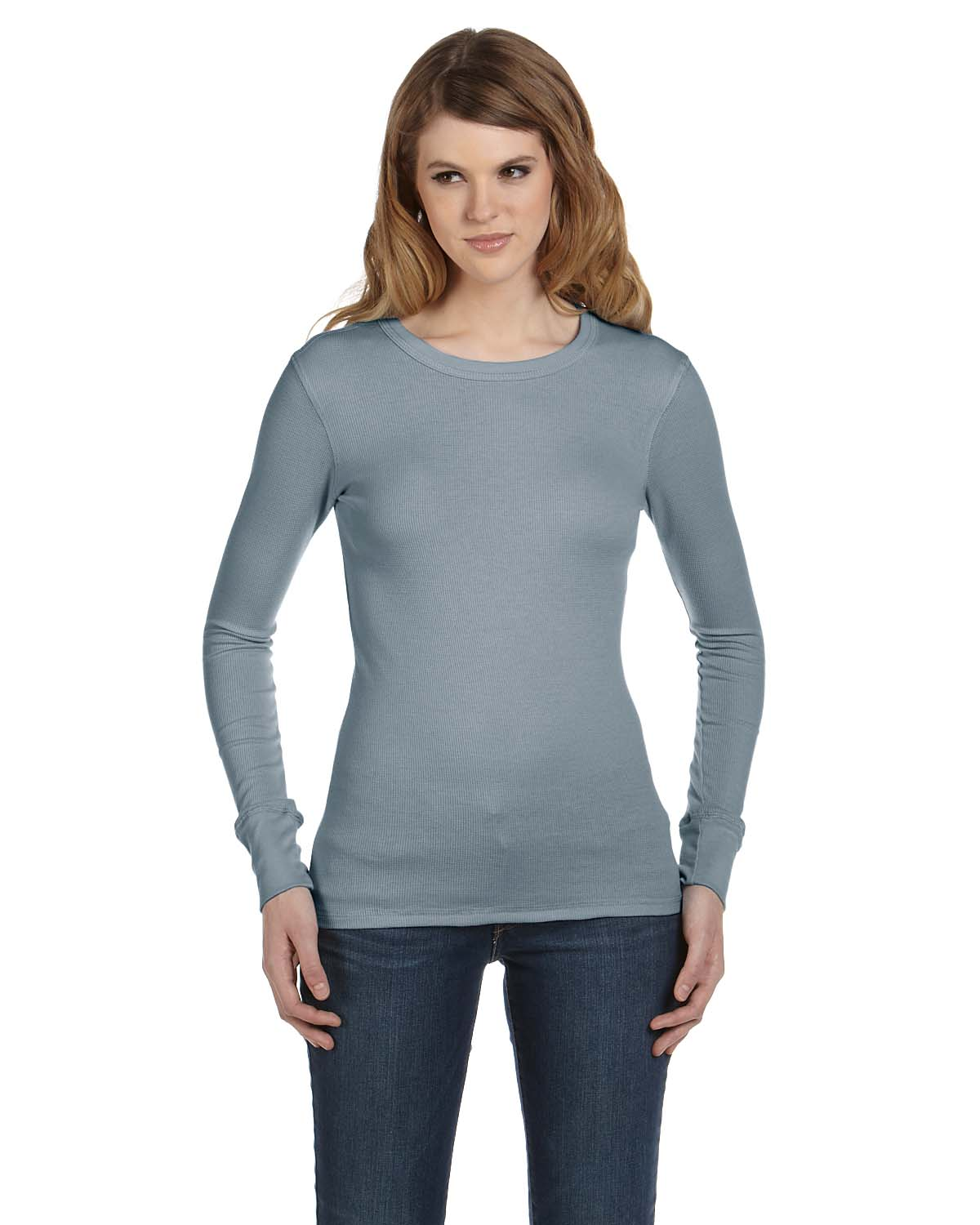 Bella Ladies Thermal Long-Sleeve T-Shirt