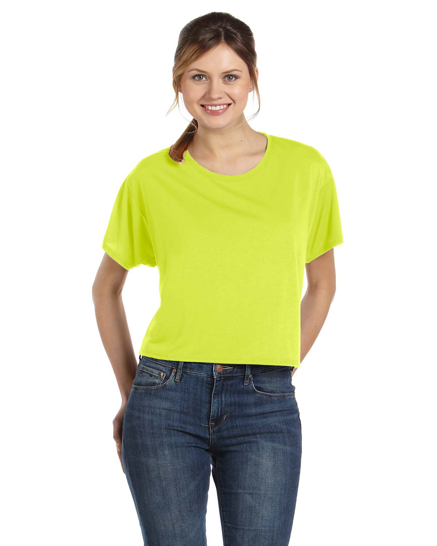 Bella Ladies Flowy Boxy T-Shirt