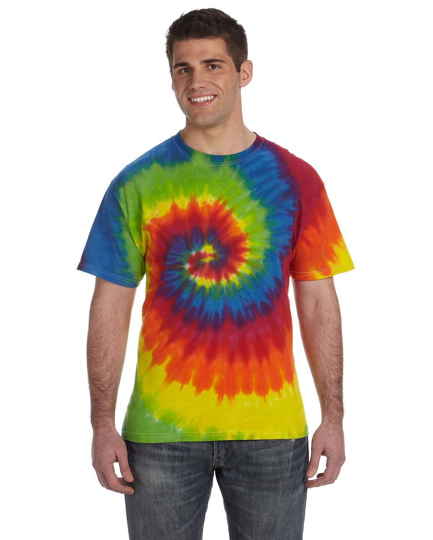 Tie-Dye 5.4 Oz., 100% Cotton Tie-Dyed T-Shirt