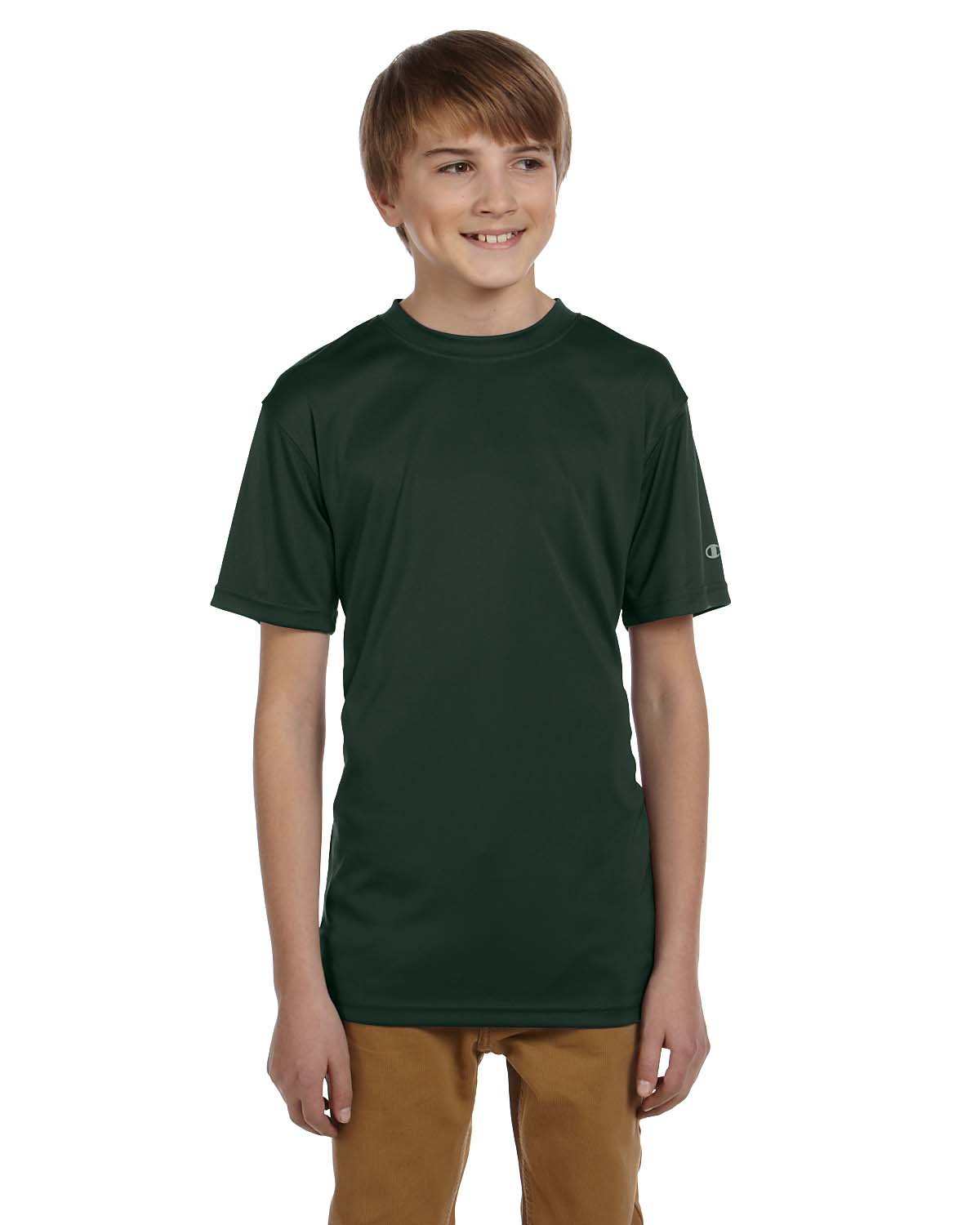 Champion Double Dry® Youth 4.1 Oz. Interlock T-Shirt