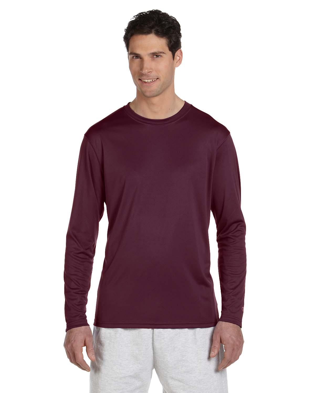 Champion Double Dry® 4.1 Oz. Long-Sleeve Interlock T-Shirt