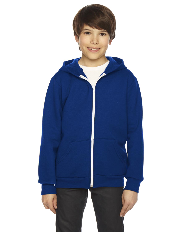 American Apparel Youth Flex Fleece Zip Hoodie
