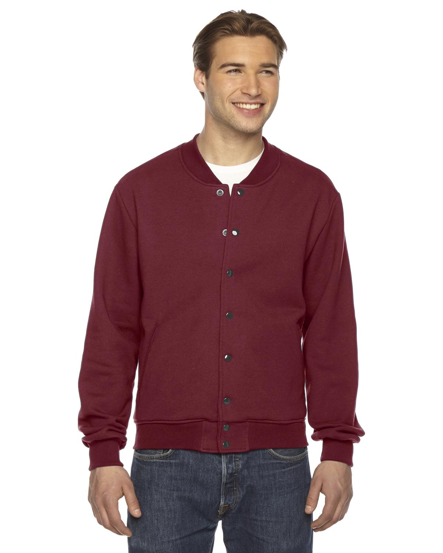 American Apparel Unisex Flex Fleece Club Jacket
