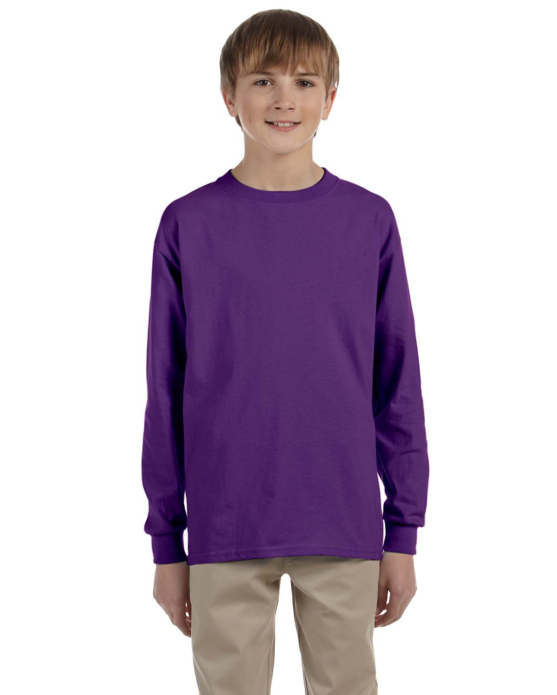 Gildan Ultra Cotton® Youth 6 Oz. Long-Sleeve T-Shirt