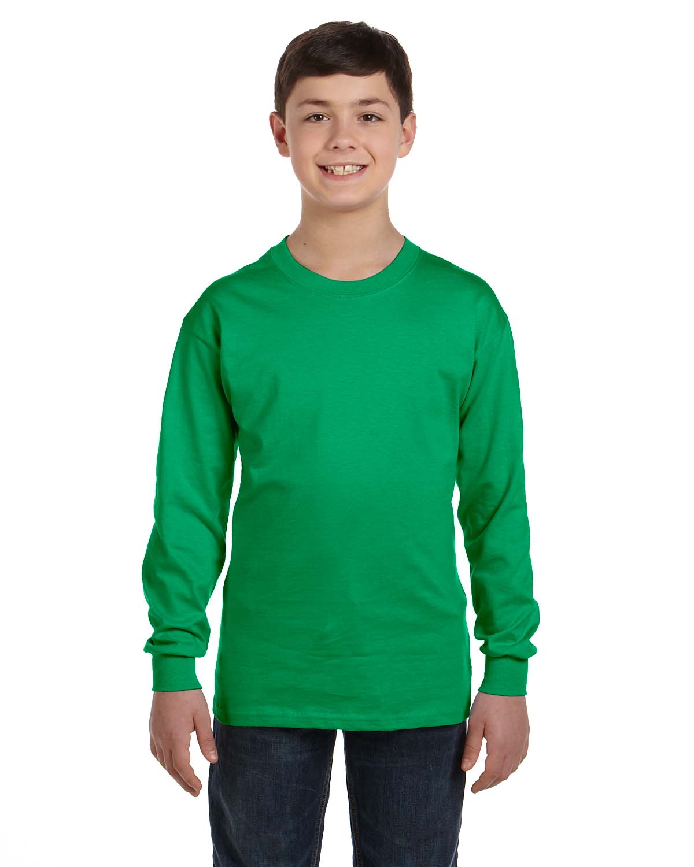Gildan Heavy Cotton™ Youth 5.3 Oz. Long-Sleeve T-Shirt