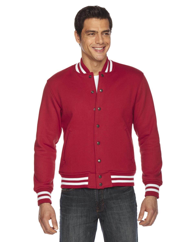 American Apparel Unisex Heavy Terry Cloth Club Jacket