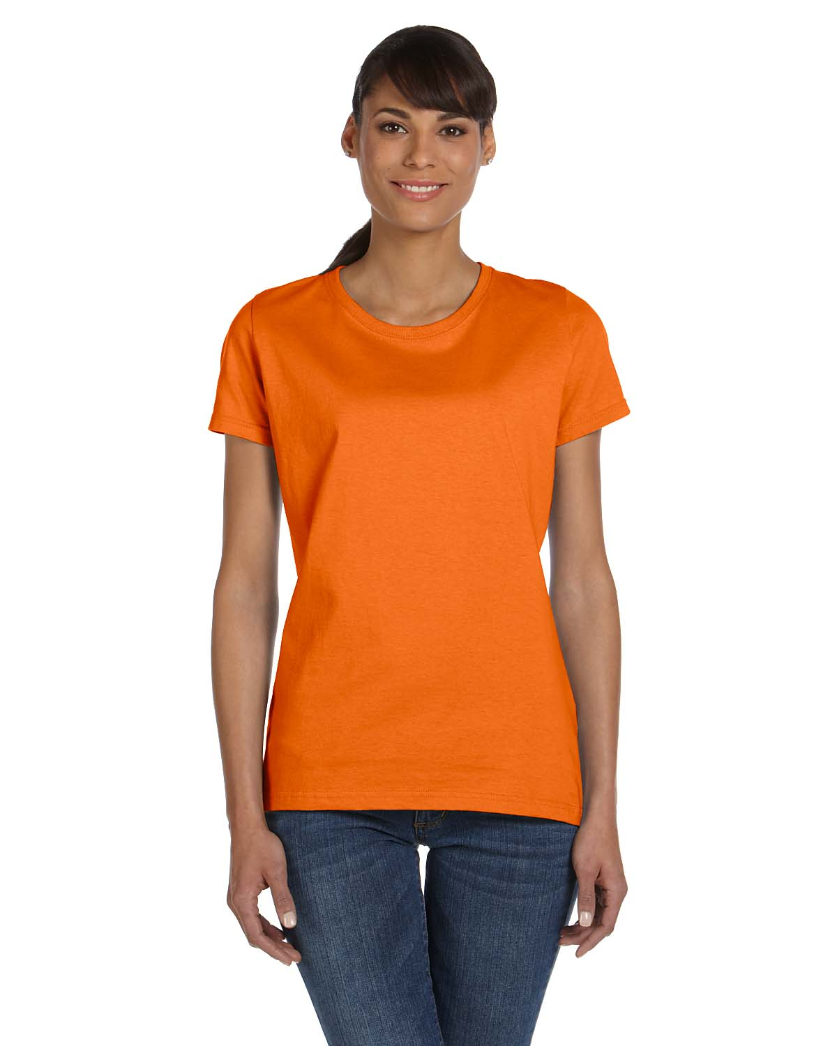 Fruit Of The Loom Ladies 5 Oz., 100% Heavy Cotton HD® T-Shir