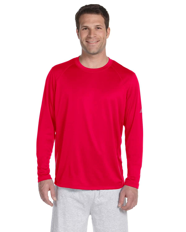 New Balance Mens Tempo Long-Sleeve Performance T-Shirt