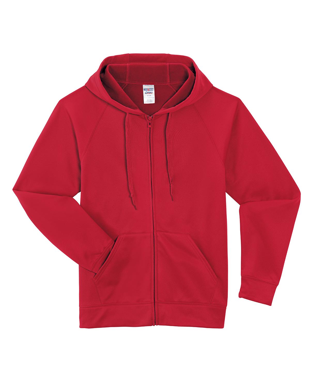 Jerzees 6 Oz. Sport Tech Fleece Full-Zip Hood