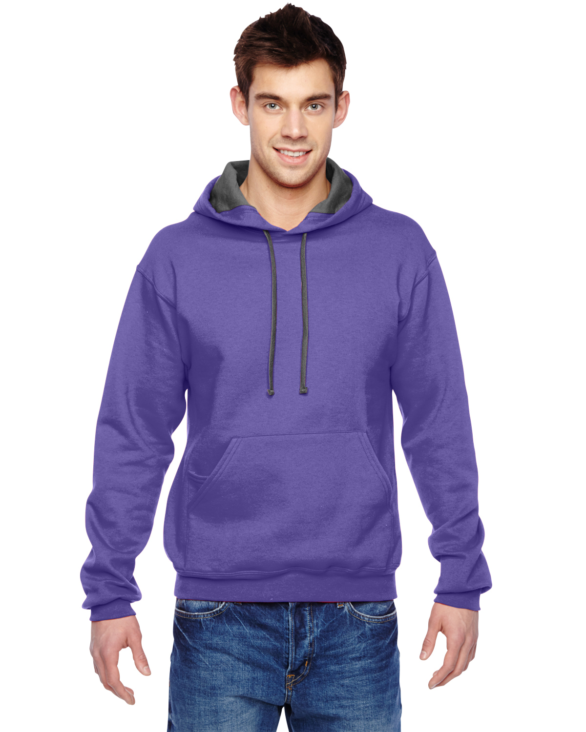 Fruit Of The Loom 7.2 Oz. Sofspun™ Hooded Sweatshirt
