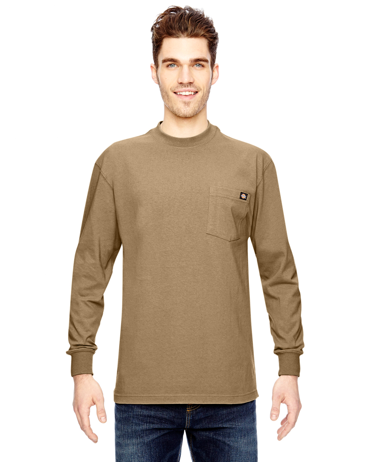 Dickies 6.75 Oz. Heavyweight Work Long-Sleeve Tall Work T-Shirt