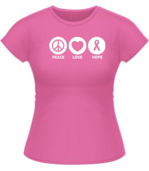 Peace Love Hope Tshirt