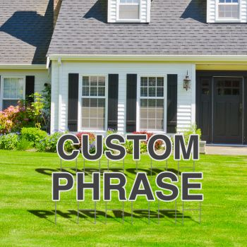 design your own yard signs