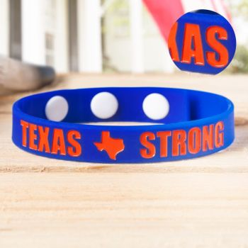 Ink Injected Adjustable  Wristbands